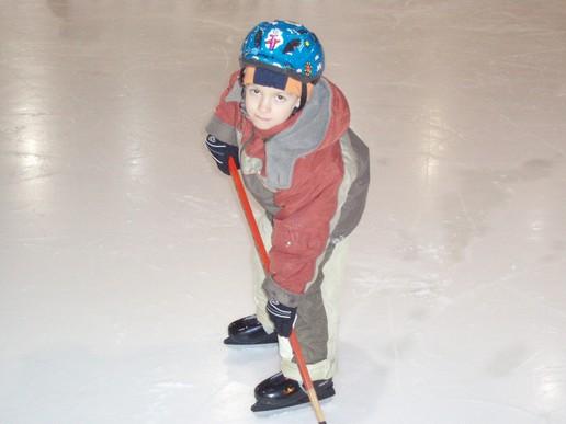 Tomiho prvé kroky na Hobáckom ľade